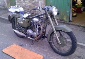 Matchless only 41hours before a long ride
