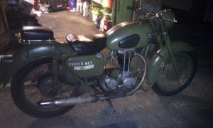Matchless now back together and running